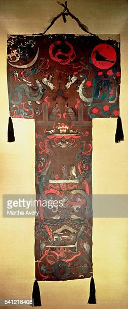 Unearthed from the tomb of Dai Hou FuRen at Mawangdui Hunan province China   Located in Hunan Provincial Museum