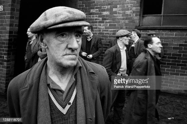 Unemployed shipbuilders in Greenock, Scotland, circa May 1969. From a series of images to illustrate the many frustrations of living in Britain...