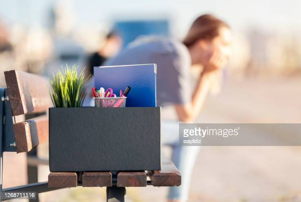 unemployed young woman - unfairness stock pictures, royalty-free photos & images