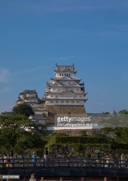Unesco world heritage site Himeji castle Hypgo Prefecture Himeji Japan on August 20 2017 in Himeji Japan