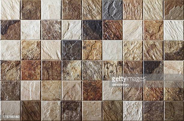uneven ceramic tile xxl - ceramic stock photos and pictures