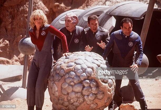 Unexpectedly Drafted Into A Real Space Mission By Aliens Who Believe Their Science Fiction Series Is Real Life Actors Gwen Demarco Sir Alexander Dane...