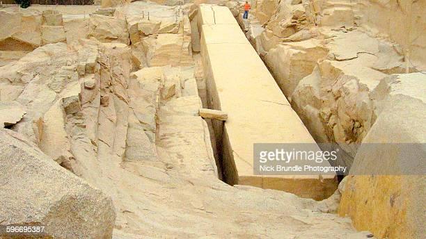 Unfinished obelisk Aswan, Egypt