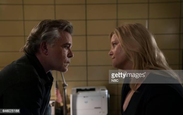 BLUE 'Unforgiven' Episode 201 Pictured Ray Liotta as Lt Matt Wozniak Anna Gunn as Julia Ayres