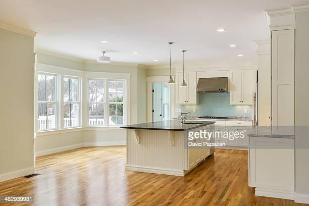 Unfurnished modern kitchen