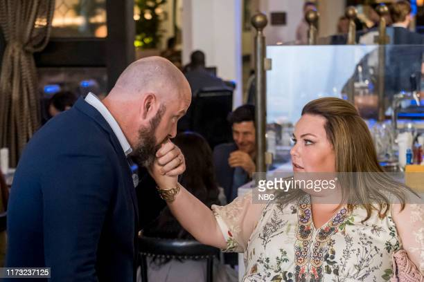 US Unhinged Episode 403 Pictured Chris Sullivan as Toby Chrissy Metz as Kate