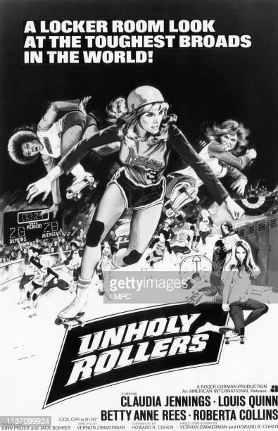 Unholy Rollers poster Claudia Jennings 1972