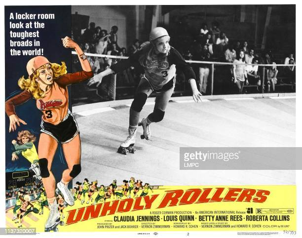 Unholy Rollers poster US poster Claudia Jennings 1972