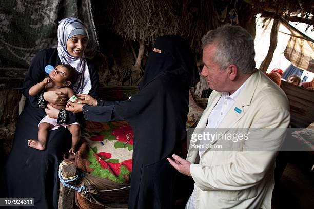 Unicef Ambassador Martin Bell witnesses house visits of community midwives which are instrumental in providing householdbased maternal and neonatal...