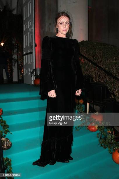 Unicef UK Ambassador Keeley Hawes seen attending UNICEF Halloween Ball event at One Marylebone on October 30 2019 in London England