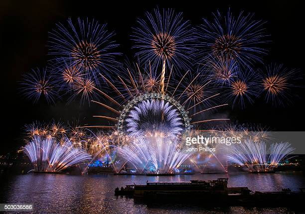 Unicef wishes London a #HappyBlueYear by adding a hint of blue to the iconic New Year's Eve firework display to support their 'New Year's Resolutions...