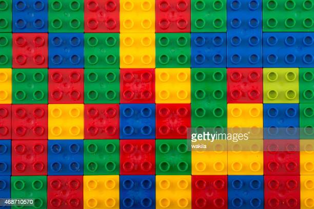 unico building bricks view from above - lego stock pictures, royalty-free photos & images