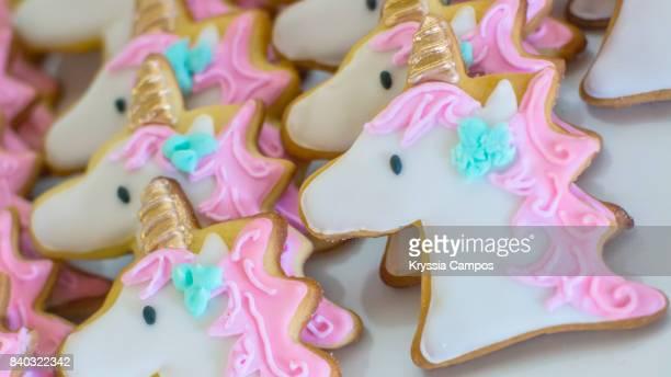 Unicorn Shaped Cookies