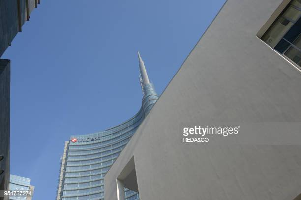 Unicredit palace Porta Nuova Garibaldi new urban regeneration project Milan Italy Europe
