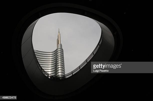 CONTENT] Unicredit skyscraper the highest in Italy with 231 meters view from Gae Aulenti square