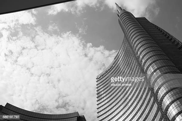 Unicredit tower. new palace in Milan