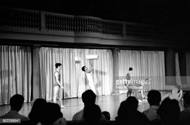 Unidentified dancers perform onstage during the 'Concert Of Dance' production at Judson Church New York New York July 6 1962