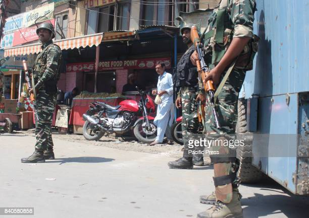 Unidentified gunman shot and critically injured a policeman Assistant SubInspector in south Kashmir's Anantnag district on Monday28 of August 2017ASI...