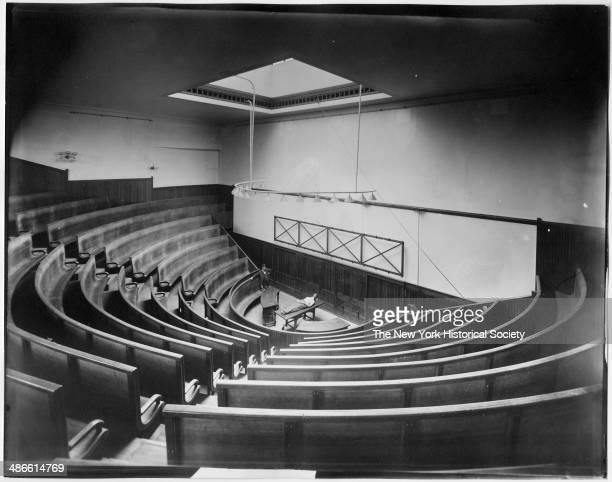 Unidentified medical school anatomy theatre New York New York 1895