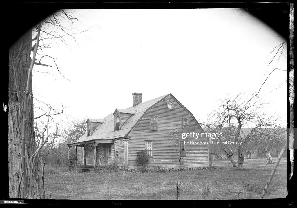 Unidentified Old Dutch Colonial House New York New York Late 19th