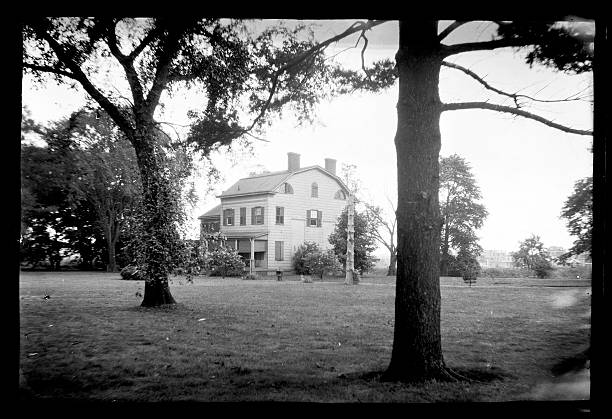 Unidentified Tall Dutch Colonial House On Large Piece Of Property
