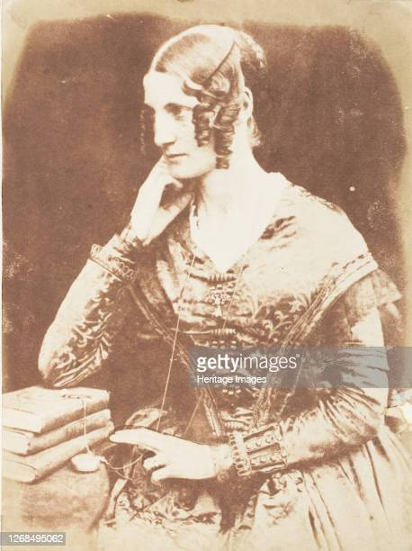 Unidentified Woman 184347 Artist David Octavius Hill Robert Adamson Hill Adamson