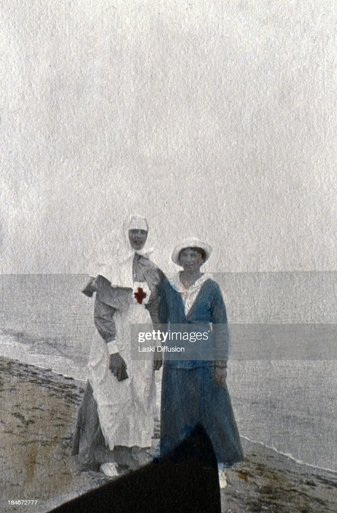 Unique Romanov Family Pictures Coloured By Tsar's Daughters : News Photo