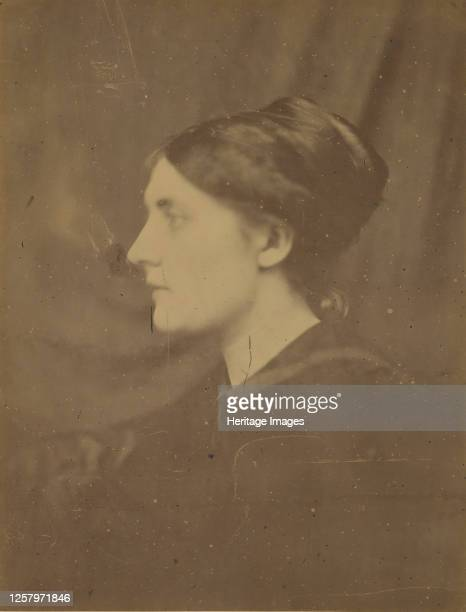 Unidentified Woman in Profile 186668 Artist Julia Margaret Cameron