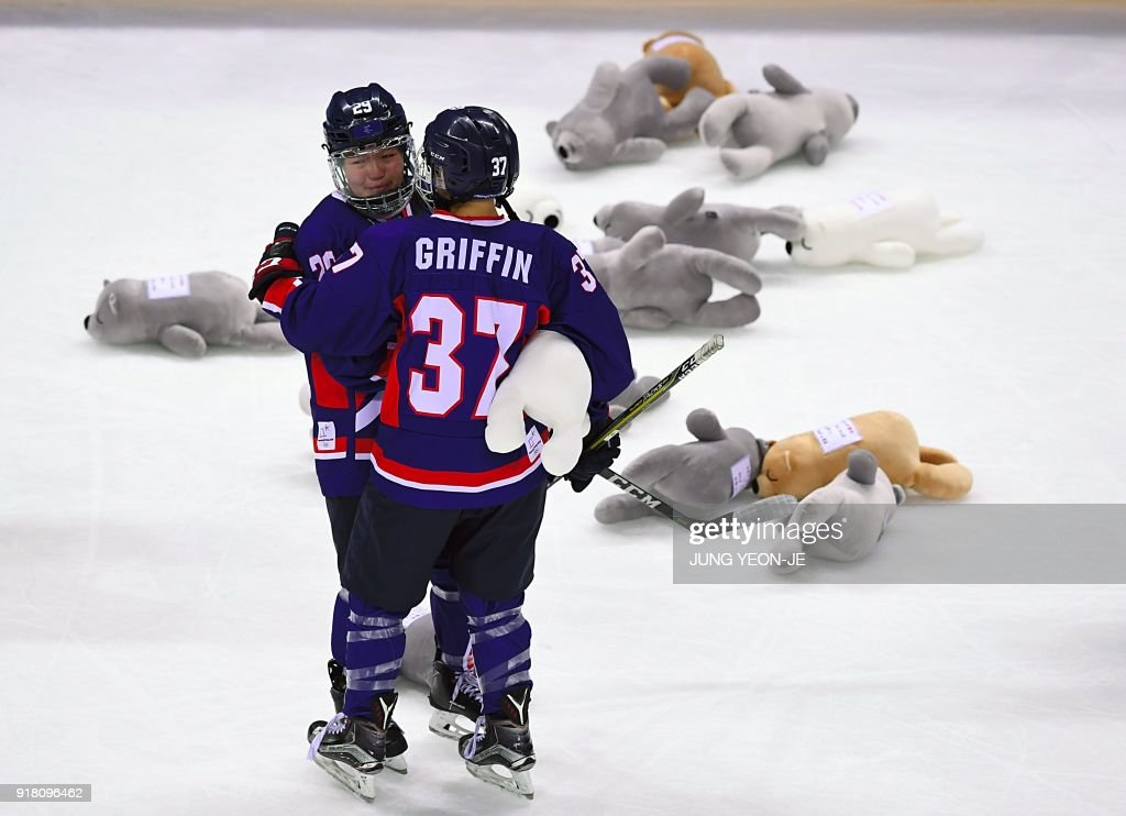 IHOCKEY-OLY-2018-PYEONGCHANG-JPN-KOR-PRK : News Photo