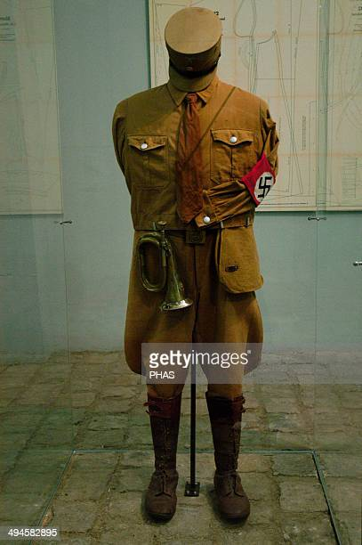 SA uniform Nazi paramilitary group Sachsenhausen concentration camp Museum Oranienburg Germany