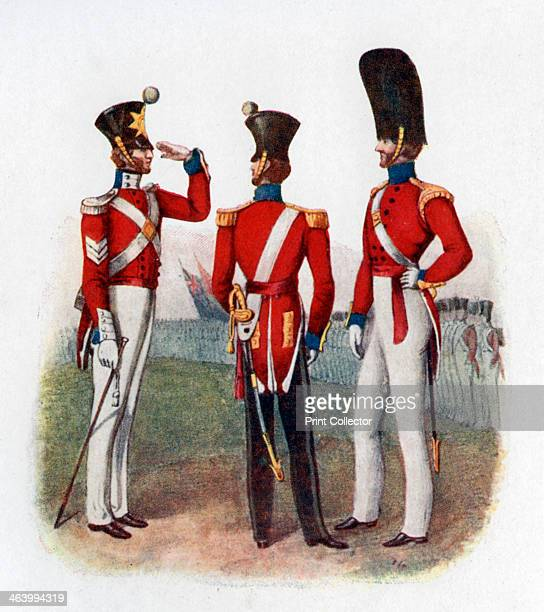 Uniform of the 86th Regiment 1842 From Historical Record of the British Army by J Cannon reproduced in Social England edited by HD Traill and JS Mann...