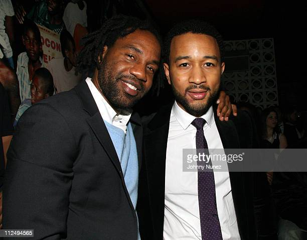 Unik owner of PM and John Legend during John Legend Album Once Again Release After Party Hosted by Unik and Francois Henry Bennahmias of Audemars...