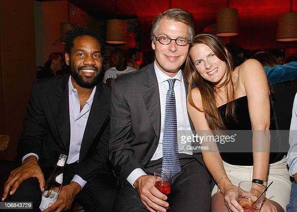 Unik Richard Johnson and Sessa during Heidi Klum and Bravo Celebrate the Launch of the New Bravo Series Project Runway After Party at PM Nightclub in...
