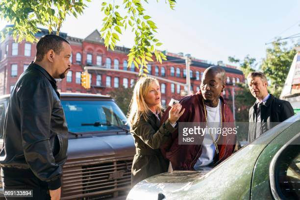 UNIT 'Unintended Consequences' Episode 1906 Pictured Ice T as Detective Odafin 'Fin' Tutuola Kelli Giddish as Detective Amanda Rollins Antino...
