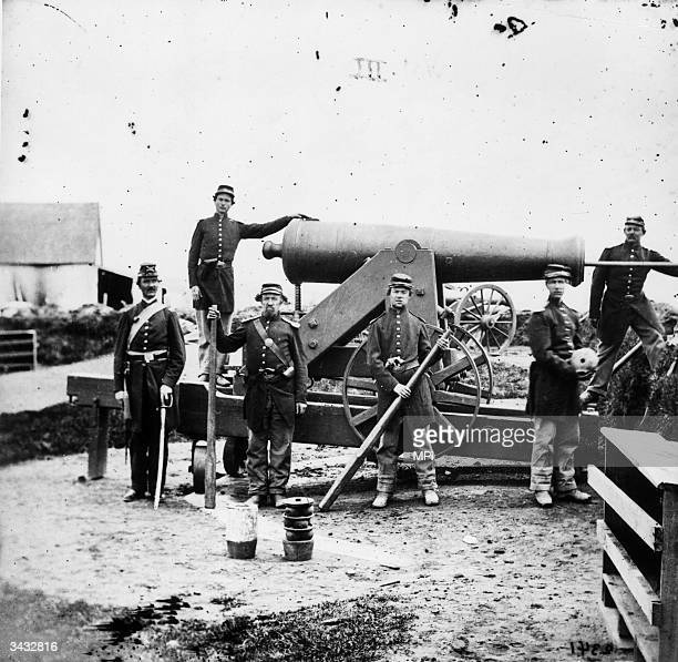 Union artillery reinforcements at Murfreesboro Tennessee