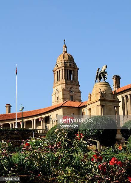 union building cupola, pretoria, south africa - pretoria stock pictures, royalty-free photos & images