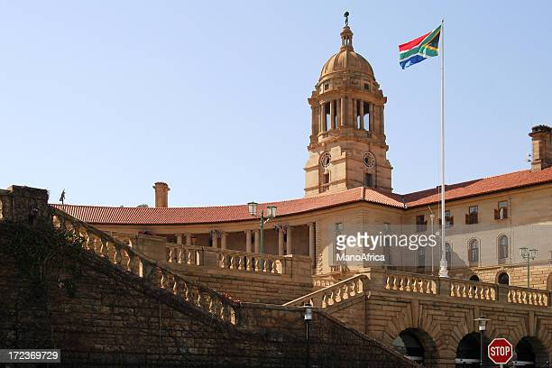 union buildings, pretoria, south africa three - gauteng province stock pictures, royalty-free photos & images