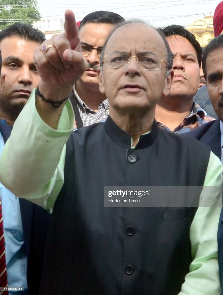 Union Finance Minister Arun Jaitley In Amritsar