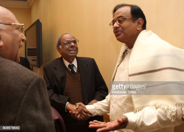 Union Finance Minister P Chidambaram arrives for prebudget meeting with Prime Minister's Economic Advisory Council in New Delhi on Wednesday Also...