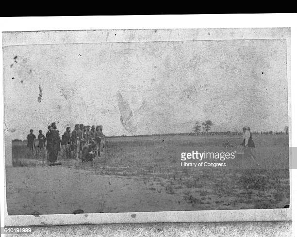 Union Firing Squad Preparing to Execute Confederate Spy