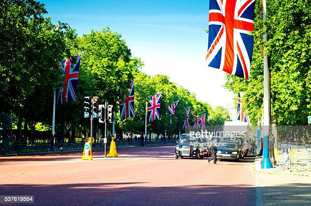 Union Flags on Pall Mall