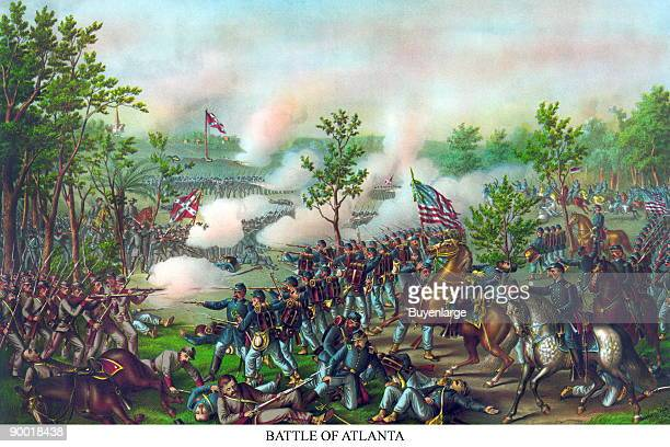 Union General William Tecumseh Sherman's army laid siege to Atlanta after the battle Confederate General Johnston was relieved and replaced by...