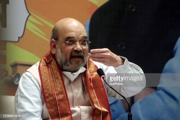 Union home minister Amit Shah address at the Meet the Press during Shah two-day visit to West Bengal, set the tone for the West Bengal assembly...