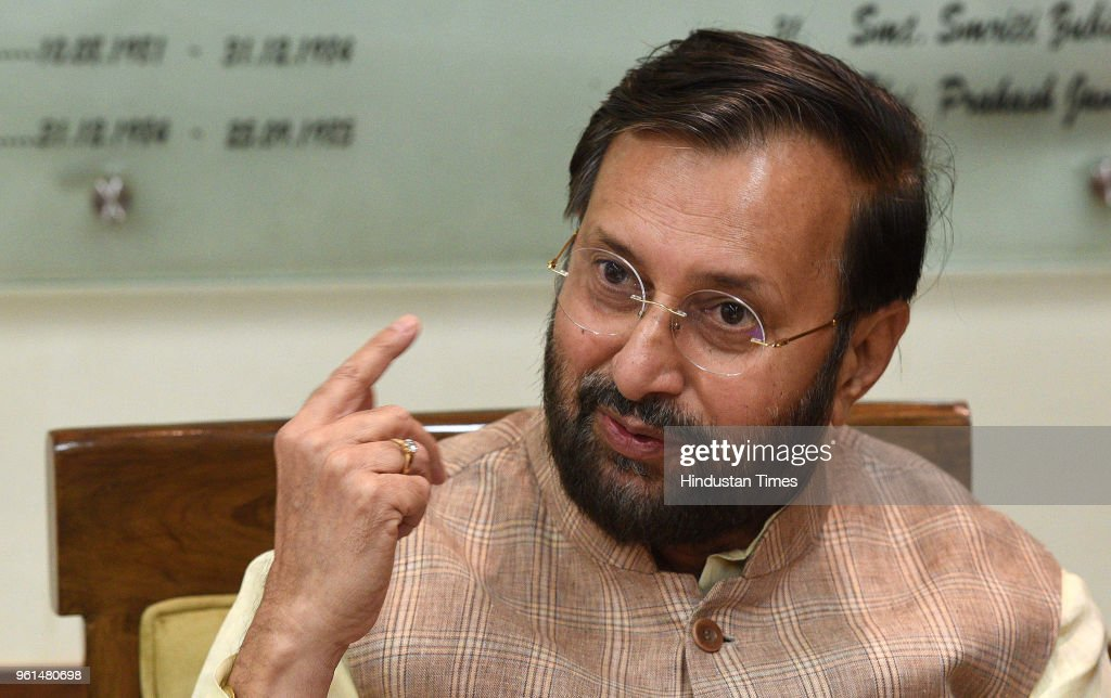 Interview Of Union Human Resource Development Minister Prakash Javdekar