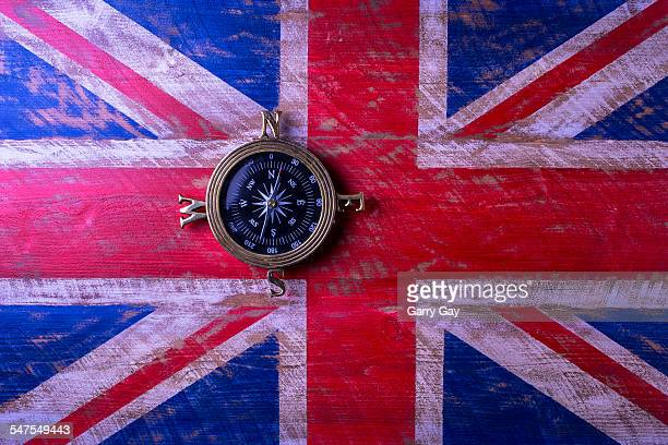 Union Jack and compass