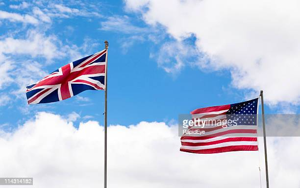 Union Jack and Old Glory