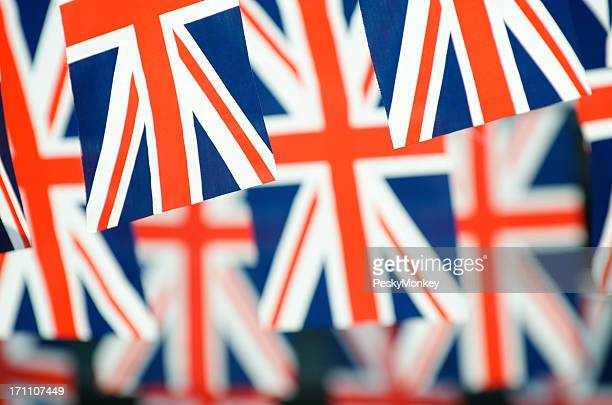 Union Jack British Flags Horizontal