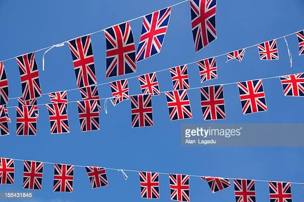 Union Jack bunting.