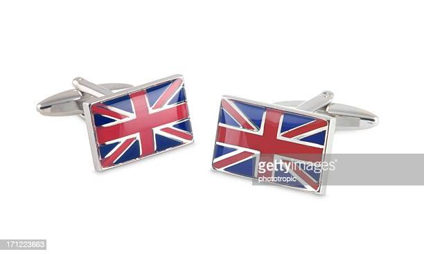 union jack cufflinks - british culture stock pictures, royalty-free photos & images