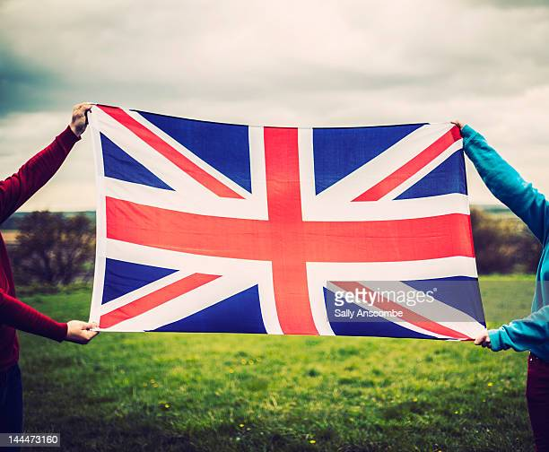 union jack flag - british flag stock photos and pictures